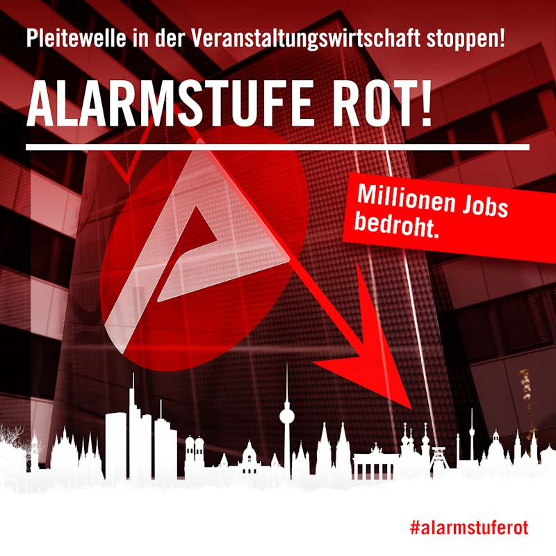 Visual alarmstufe rot