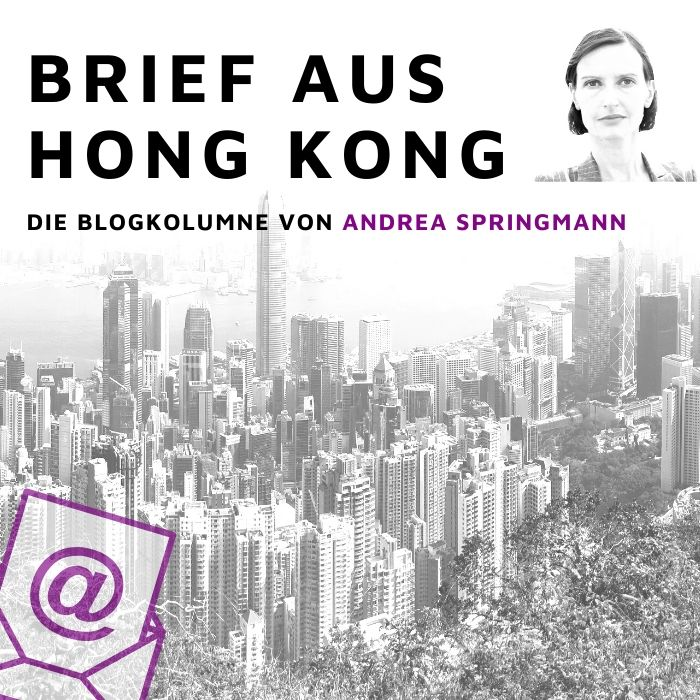 Brief aus Hong-Kong