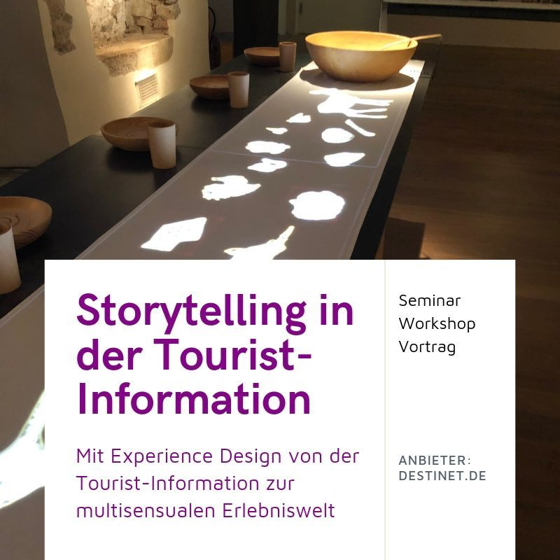 Storytelling in der Tourist-Information
